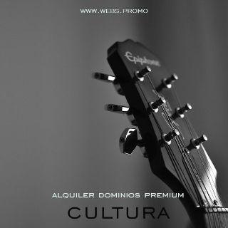 dominios premium para hacer paginas web de musica y cultura