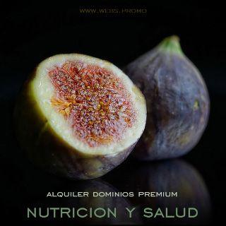 dominios premium para hacer paginas web de nutricion alimentacion y salud